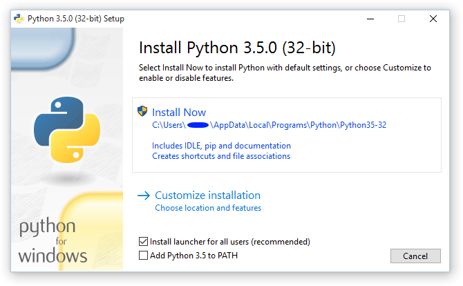 3  Using Python on Windows — Python 3 7 0a2 documentation